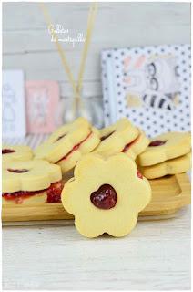 Galletas de mantequilla caseras: rellenas de mermelada ¡Fáciles y rápidas!