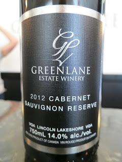 GreenLane Cabernet Sauvignon Reserve 2012 (90+ pts)