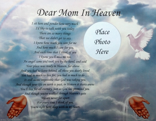 Miss you mom Mothers day Quotes poems Phrases for dead mom