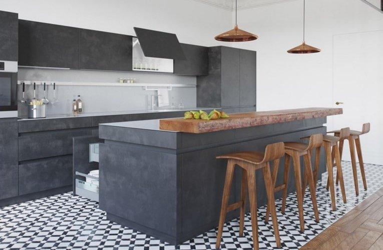 ideas para una cocina de estilo industrial