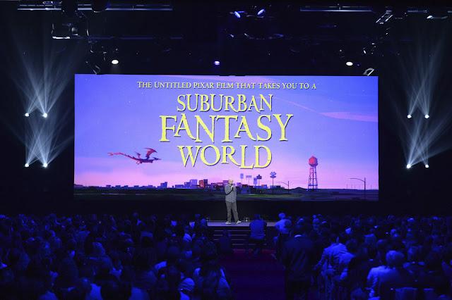 Pixar's Onward at the 2017 D23 Expo