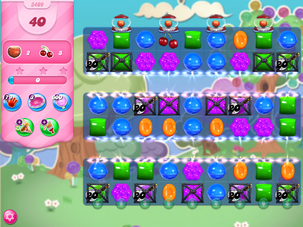 Candy Crush Saga level 3409