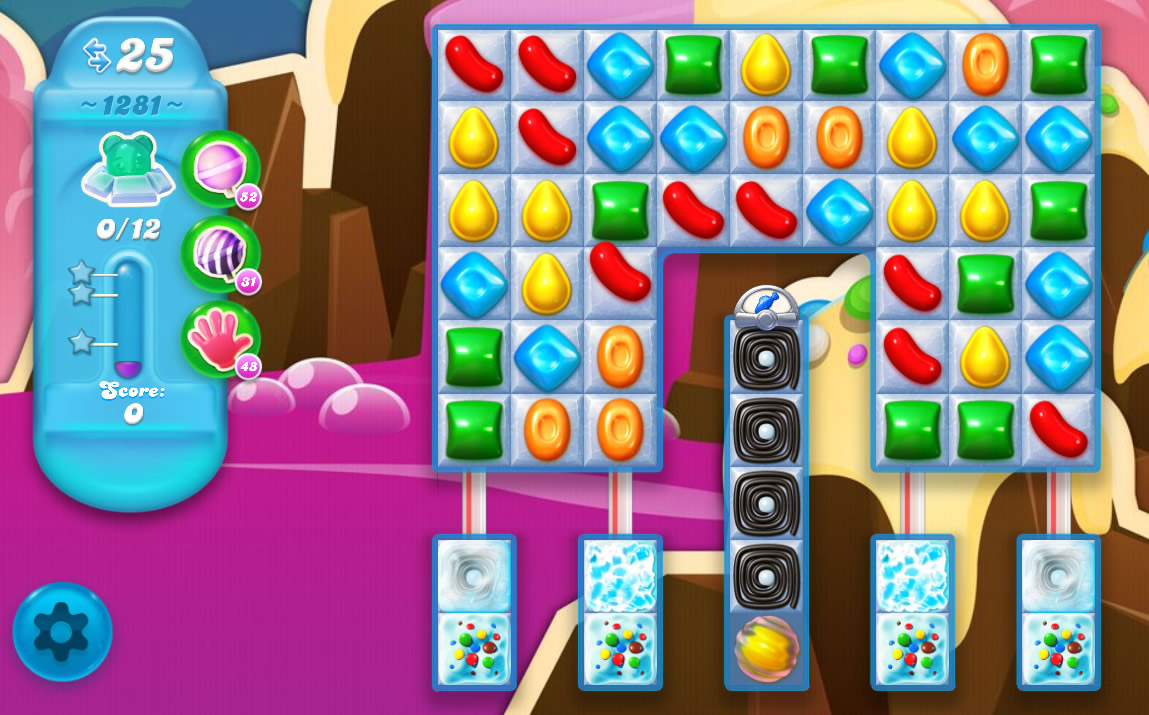 Candy Crush Soda Saga level 1281