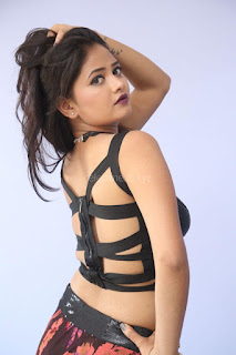 Shriya Vyas in a Tight Backless Sleeveless Crop top and Skirt 92.JPG