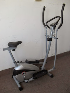 Small crosstrainer bike