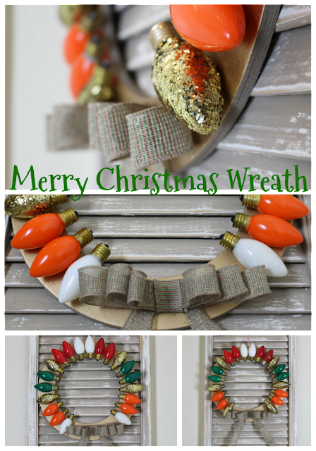 Christmas wreath/ It's a Wonderful Life
