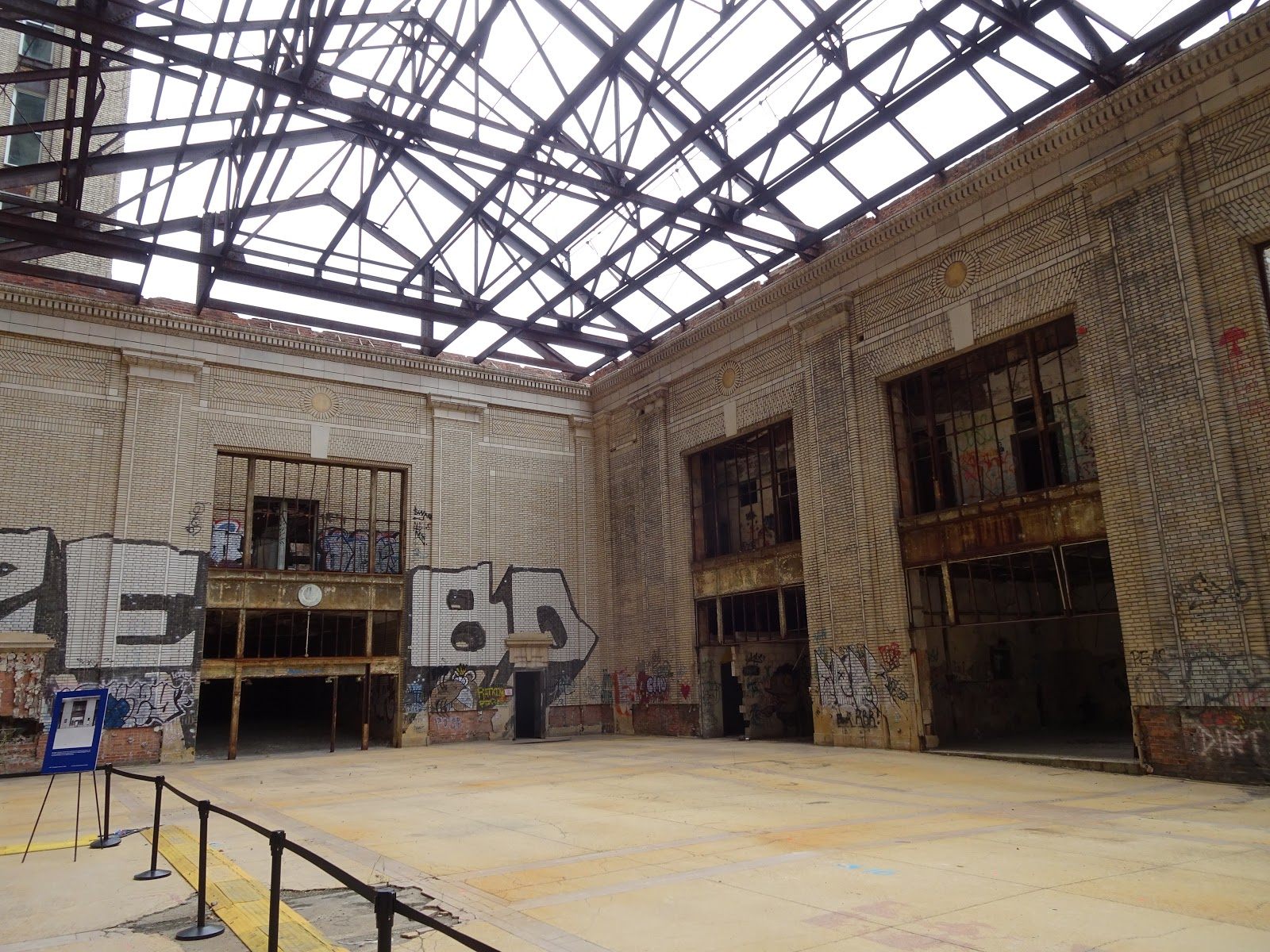 Michigan Central Station Open House Tour