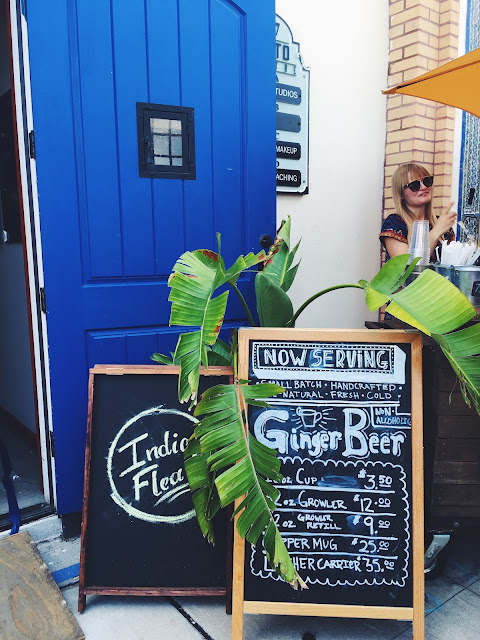 indie flea, tidal boar ginger beer, rialto theatre, Lauren Banawa, tampa, st pete