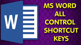 microsoft+word+Ctrl+ShortCut+key