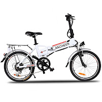 Ancheer Power Plus FOLDING Electric Mountain Bike, review features compared with other Ancheer mountain e-bikes