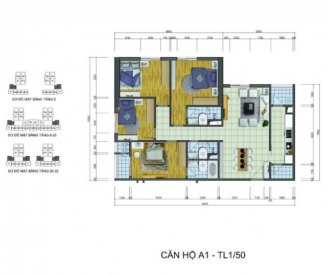 udic westlake chung cư cao cấp Goldsilk Complex tọa lạc tại số 430 Cầu Am