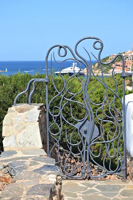 Cancello chiesa Stella Maris
