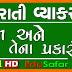 Gujarati Vyakaran - Gujarati Grammar - Nam ane Tena prakaro - Video 1