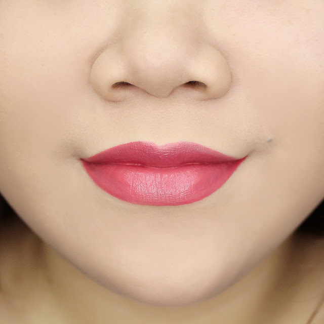 Lips Swatch Creamy Matte Pink Everyday