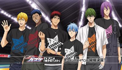 Movie Anime Kuroko no Basuke Diumumkan Pada Kurobas Cup 2015