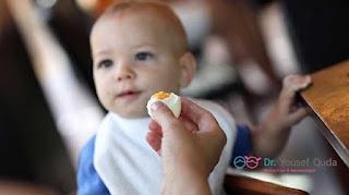 حساسية البيض عند الاطفال