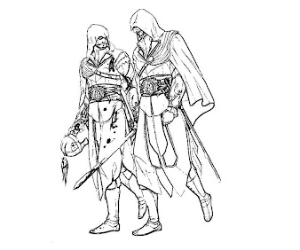 Assassin's Creed coloring pages | Print and Color.com | 282x338