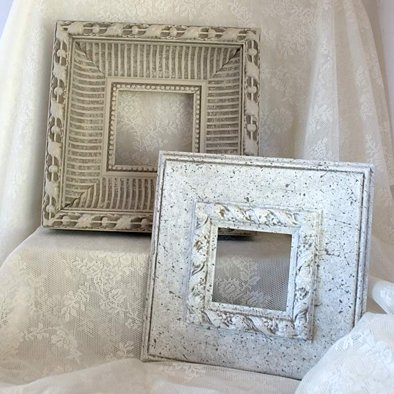 Details In The Decor: DIY Shabby Chic White Frame For Wall