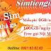 Bom sim Vietnamobile sim 4G miễn phí data và gọi thoại giá tốt