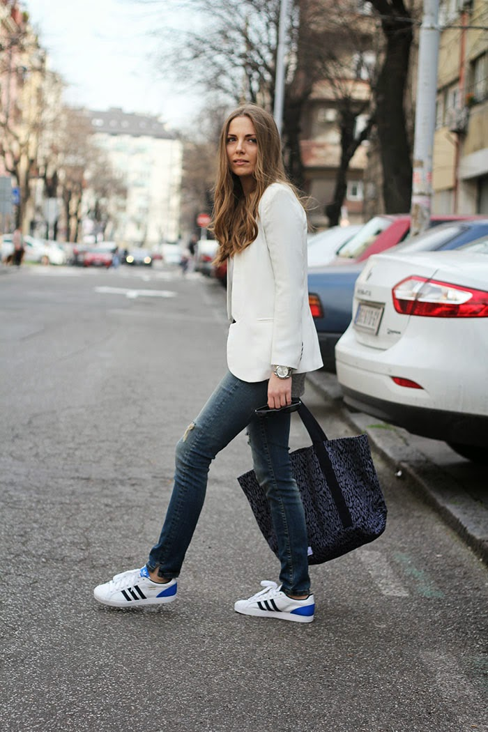 Fashion And Style Blue Jeans