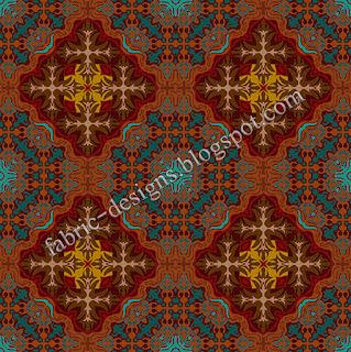 nice textile design pattern