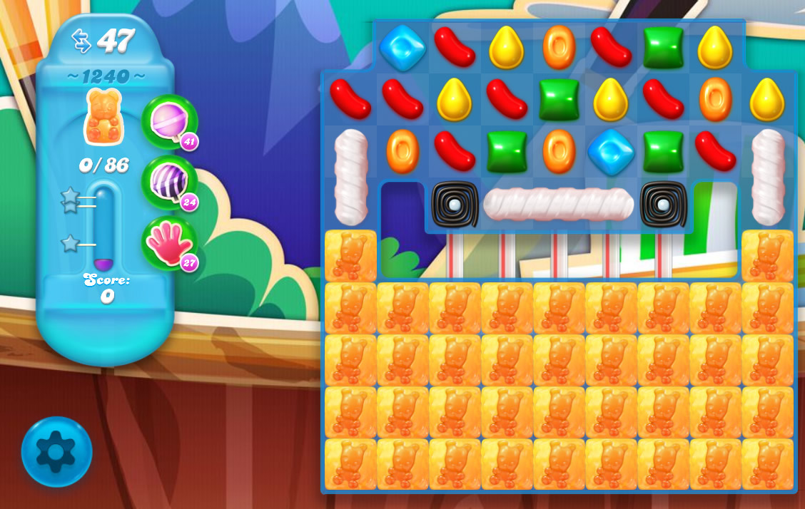 Candy Crush Soda Saga level 1240