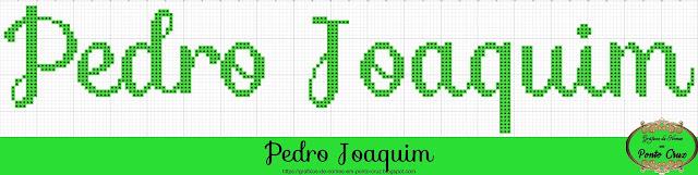 Nome Pedro Joaquim em Ponto Cruz