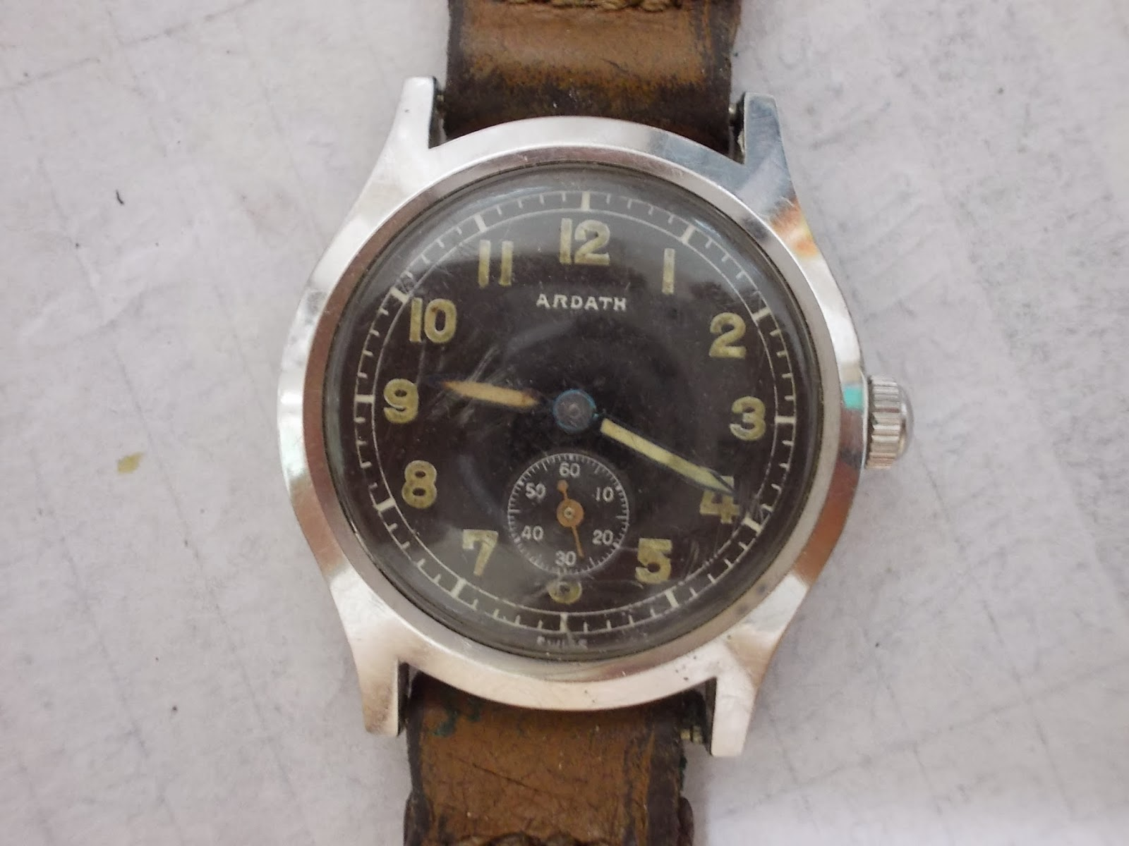 Vintage Watches Ardath Military Rm380