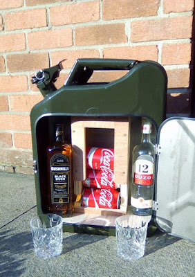 Jerry Can Beverage Storage
