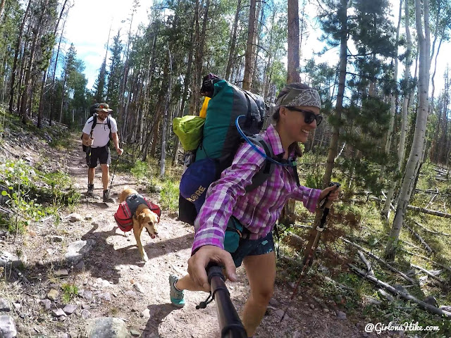 Backpacking to Gilbert Lake & Gilbert Peak, Uintas