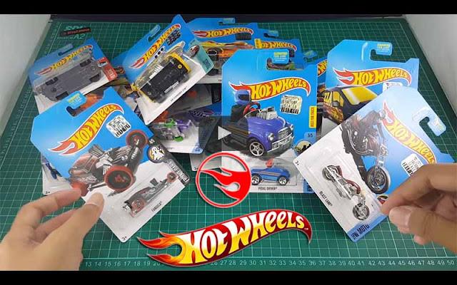 6 Tips Cara Memilih Hotwheels yang Bagus dan Menarik