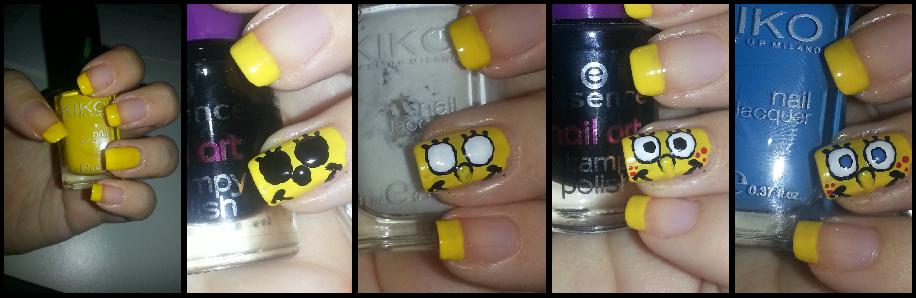 Magic Nails Spongebob