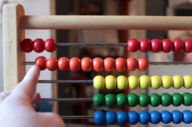 learn simple addition and on abacus - 792×524