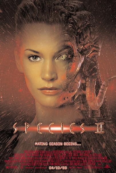 Poster Of (18+) Species 2 (1998) UnRated 720p Hindi BRRip Dual Audio Full Movie Download