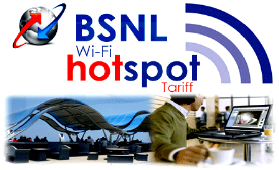 BSNL introduced tariff for temporary bulk user WiFi Hotspot connection
