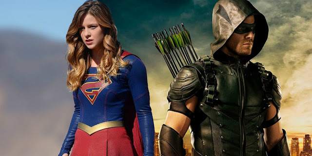 Supergirl e Green Arrow