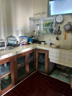 Dapur rumah di Jl. Ontoseno VII No. 45 Malang