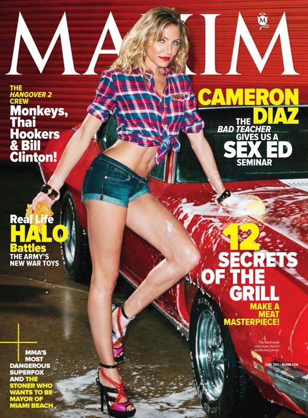 Cameron Diaz in Maxim Magazine