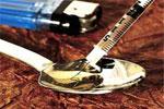 Heroína líquida para ser inyectada