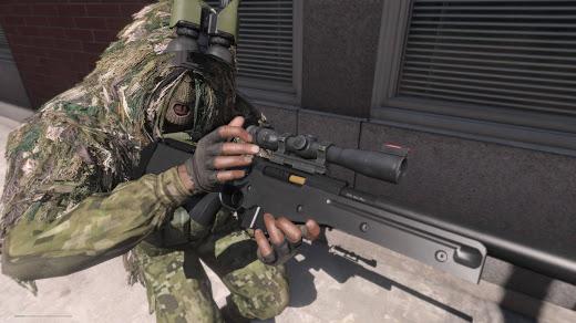 Arma3用HLC 武器MODのAWM狙撃銃