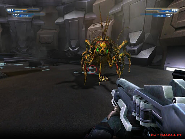 Unreal II The Awakening Gameplay Screenshot 1