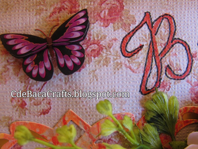 Handmade Butterfly Cards by CdeBaca Crafts Blogspot.