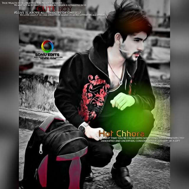 image of stylish boy