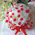 Hat favors bags for baptism B012