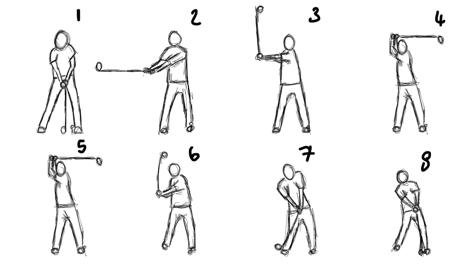 Joecooper Introduction To Animation Golf Swing Research