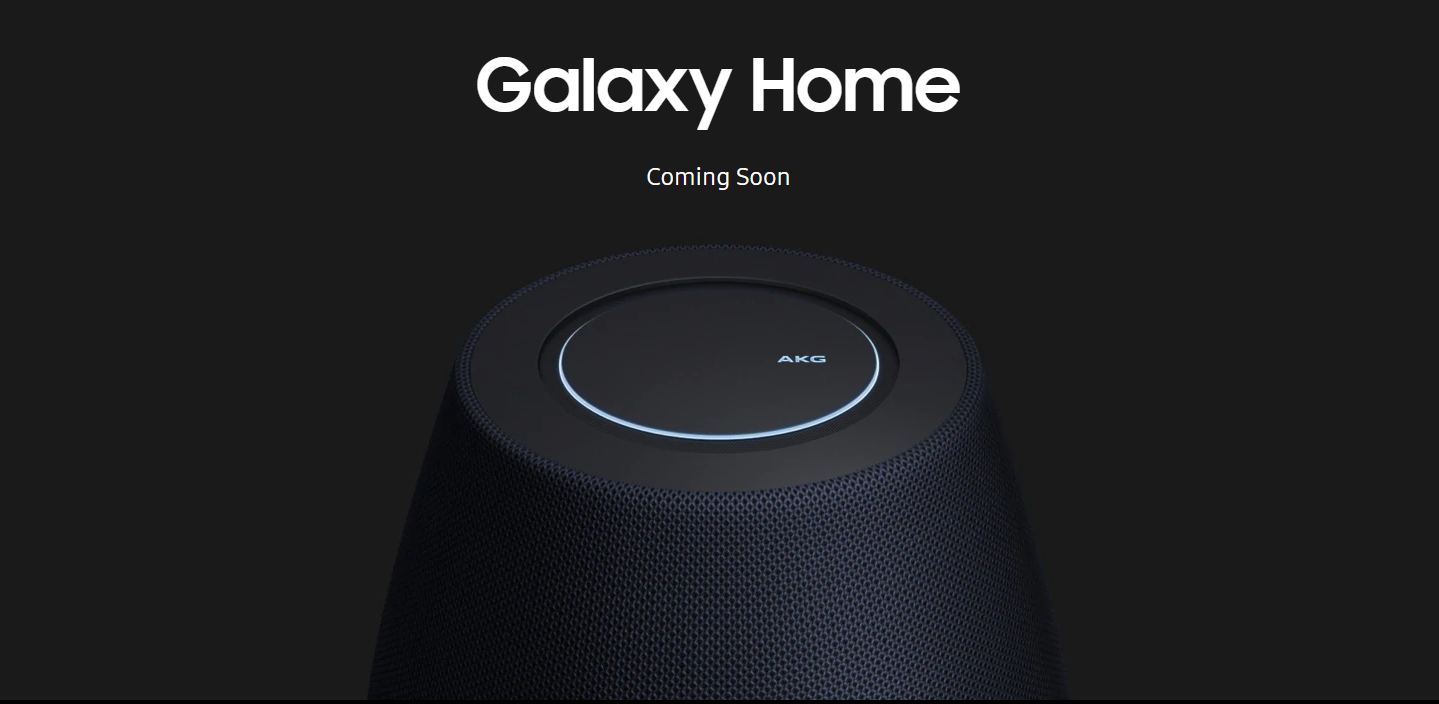 Affordable Galaxy Home Smart Speakers from Samsung Powered by Bixby