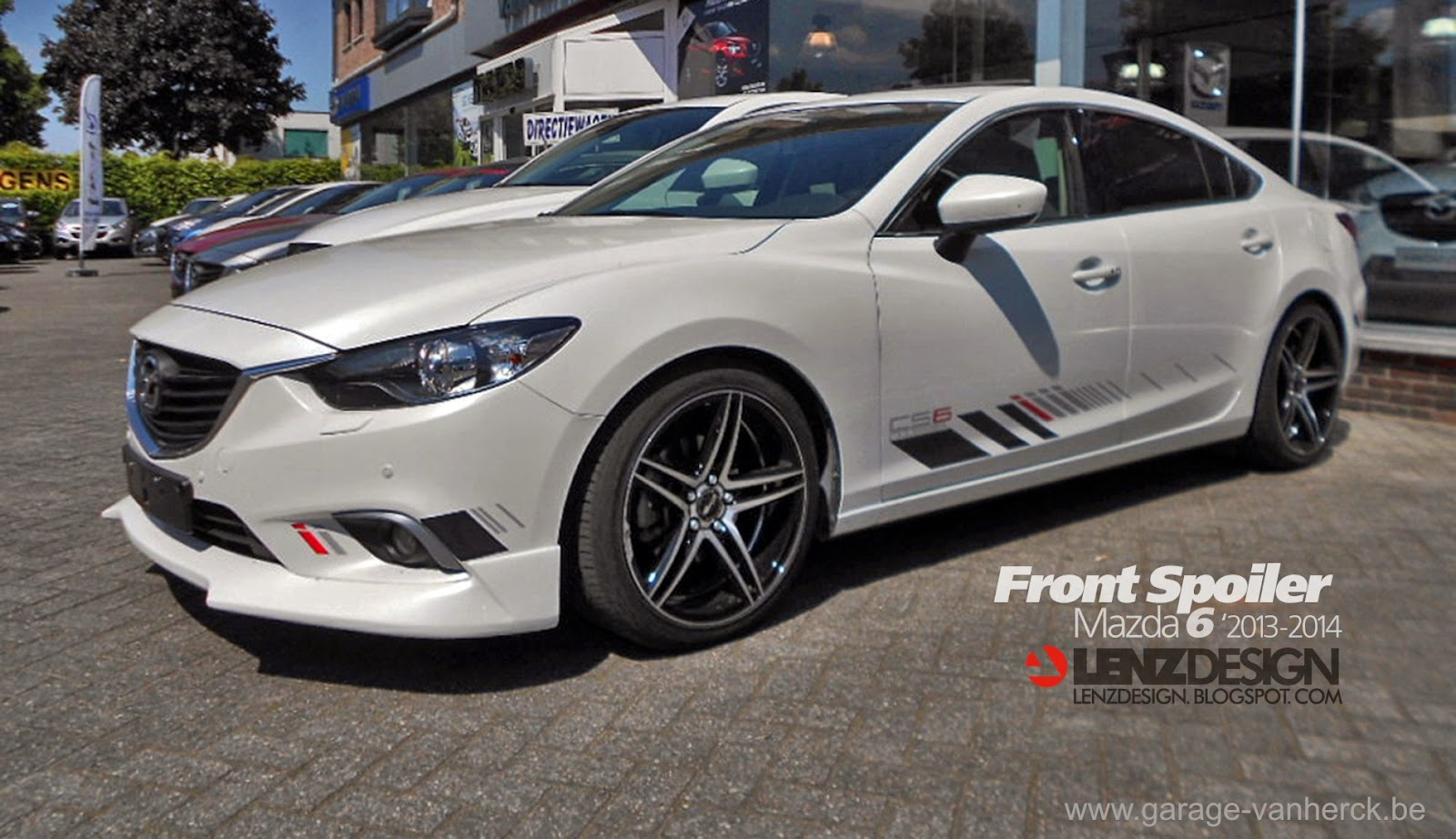 mazda 6 2013 tuning body kit lenzdesign performance project israel auto cars benz. Black Bedroom Furniture Sets. Home Design Ideas