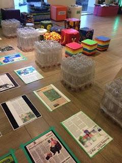 Shopping Bay Market promove a exposição 'O PET com Retorno'