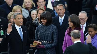 Investidura presidencial en EE.UU. Esposas y biblias