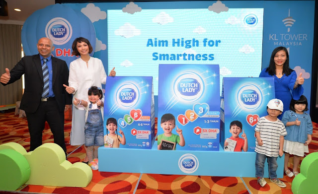 DUTCH LADY AIM HIGH FOR SMARTNESS LAUNCH!, DUTCH LADY, LARA ALANA, SCHA AL-YAHYA, SUSU TEPUNG,